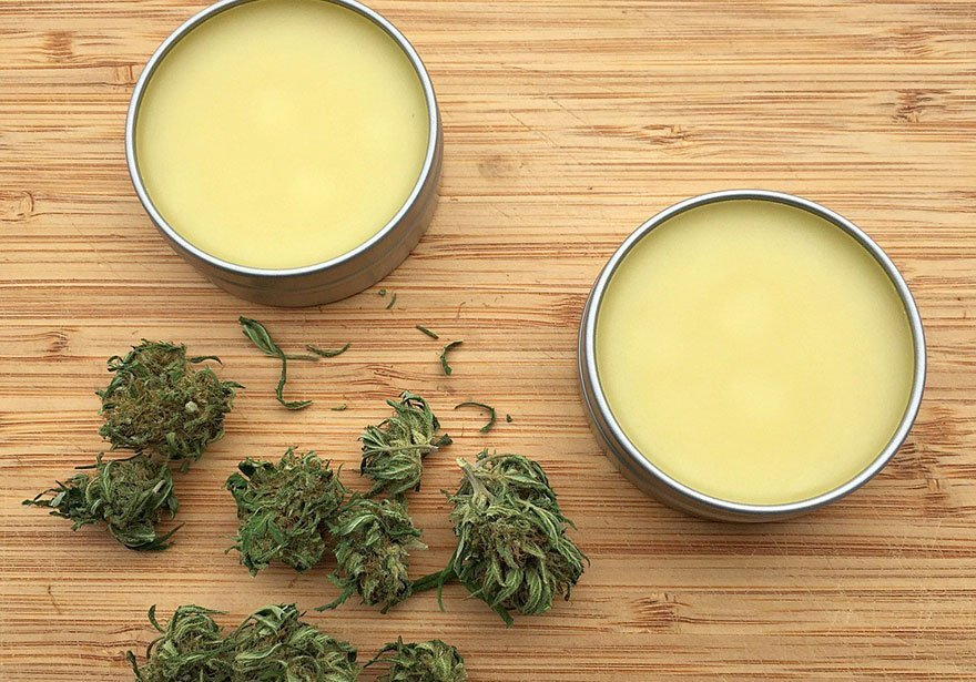 marijuana infused salves