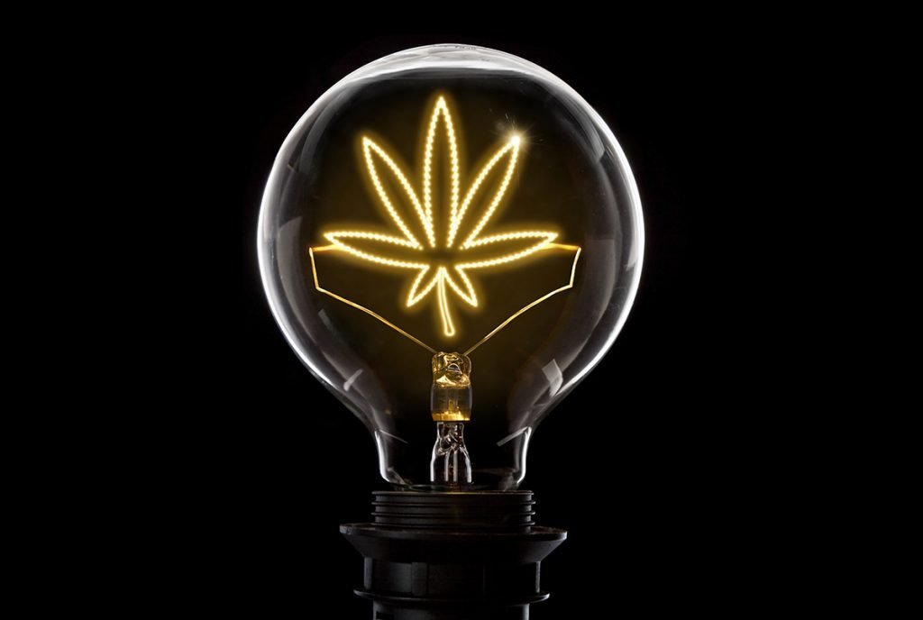 marijuana lightbulb